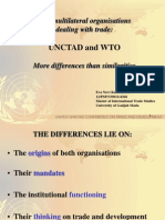 UNCTAD and WTO_More Differences Than Similarities