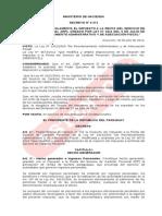 IRP-DECRETO Nº 9371-12  del 30.06.12 Nuevo Reglamento del IRP