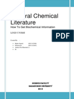 How to Get Biochemichal Information