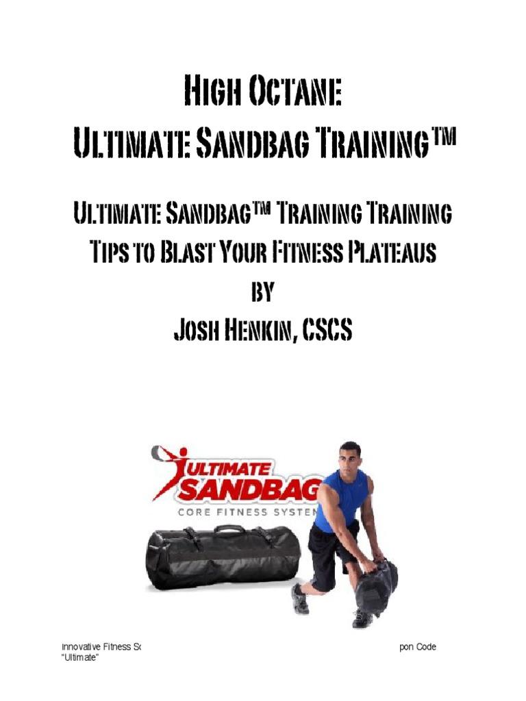 High octane sandbag training physical fitness weight training fandeluxe Images
