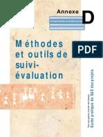 Methodes Et Outils de Suivi Evaluation