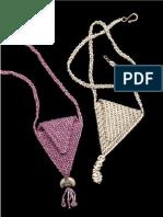 Brick Stitch - Triangular Amulet