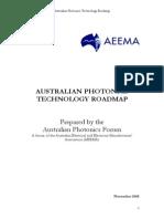 2005 Photonics a Roadmap for the Australian Photonics Industry AEEMA