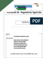 PROYECTO HIDROLOGICO DE LA CUENCA DEL RIO ZAÑA