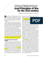 To Do-Modernized Principles of War