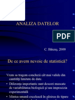 Analiza Datelor