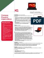 Compaq Presario CQ42-228LA Notebook PC