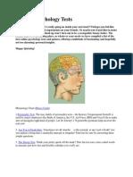 Top Ten Psychology Tests.docx