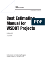 Estimating Guidelines