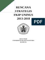 Renstra FKIP  2013-2018