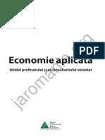 Ghidul Profesorului Economie Aplicata