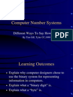 Computer Number Systems