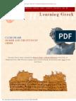 Pharr Homer and the Study of Greek
