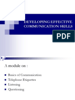 Developing Effective Communication Skills - Seema