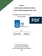 Tugas 5 Verifikasi Dan Validasi Pl