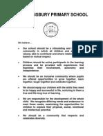 EHPS Ethos and Values Statement