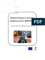Alcohol Policy in Europe