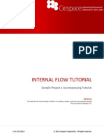 Ciespace Tutorial 01-Internal Flow