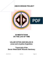 28 Meditations on the Law of Time