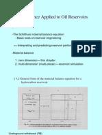 Material Balance Analysis