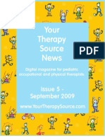 Your Therapy Source September 2009