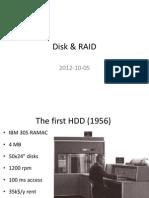 Disk and Raid