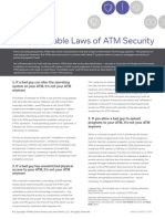Ten Immutable Laws of ATM Security