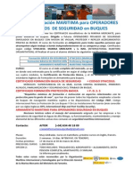 FORMACION MARITIMA operadores SEGURIDAD BUQUES