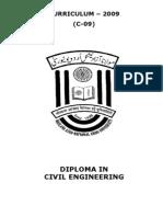 Curriculum 09 Civil