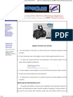 Internal Customer Satisfaction, Project Report Customer Satisfaction Survey Report