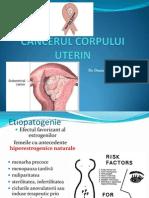 Curs 6 Cancerul Corpului Uterin