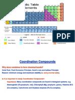 CY 101Coordination Compounds1