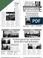Versión impresa del periódico El mexiquense 6 febrero 2014