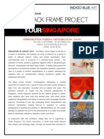 press release the black frame project - yoursingapore