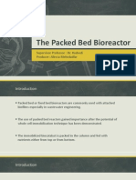 The Packed Bed Bioreactor Final