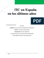 Las TIC en España 2