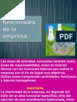Áreas básicas funcionales de la empresa