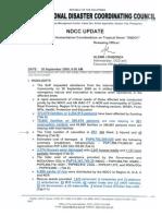NDCC Sit Rep 14 Ondoy