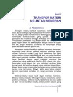 Transpor Materi Melintasi Membran (adnan)