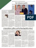 Der Schwarm macht's - Crowdfunding-Artikel plus Interview im Straubinger Tagblatt