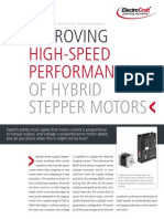 Improving High Speed Performance of Stepper Motor Systems 2012-02-09
