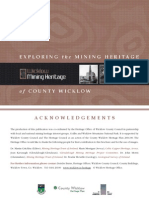 Mining Heritage of Co Wicklow