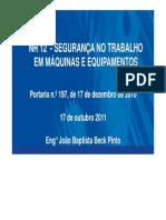 PALESTRA_NR_12_CATEGORIA DE SEGURANÇA
