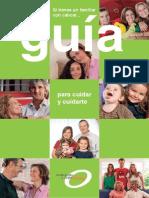 Guía consejos  psico- emocionales para familiares de pacientes con cáncer