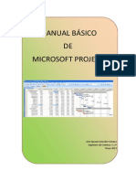 MANUAL BÁSICO DE MICROSOFT PROJECT.