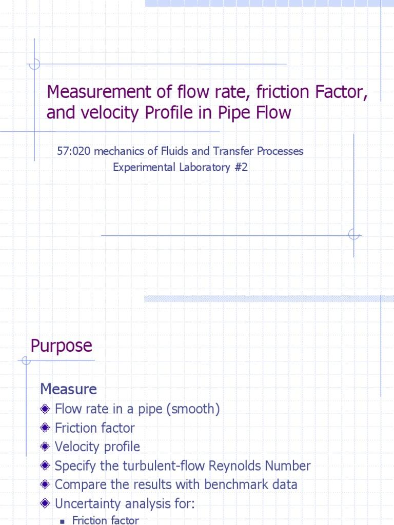 2002 04 19pipeexp 1 Pressure Measurement Fluid Dynamics