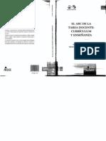 GVIRTZ, SILVINA Y MARIANO PALAMIDESSI (1998) UN MODELO BÁSICO EN EL A B C DE LA TAREA DOCENTE CURRICULUM Y ENSEÑANZA