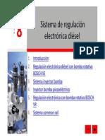 Sistema de Regulacion Electronica Diesel