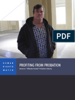 Profiting From Probation