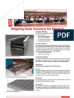 A1 Weighing Scale Conveyor for Check In